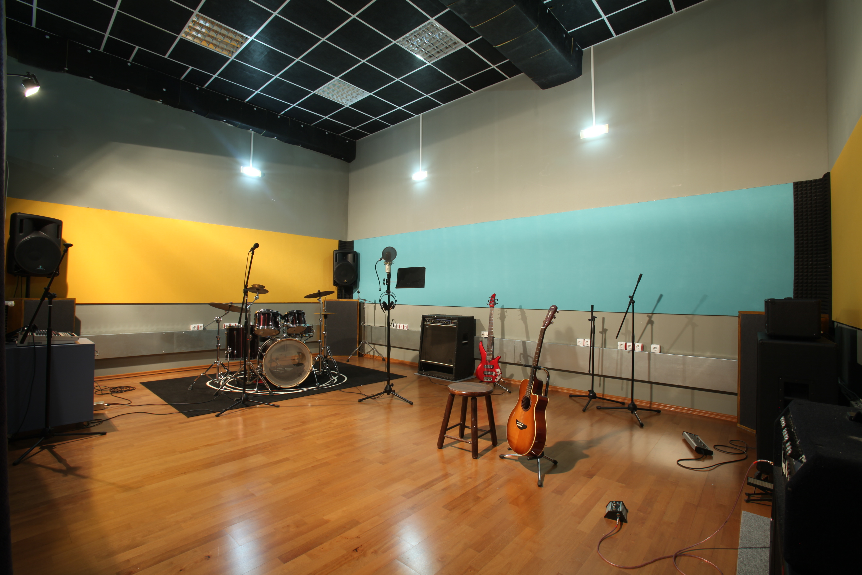 Pacific Studio Recording And Rehearsal Studio In Sofia